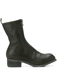 Guidi Cracked Effect Ankle Boots 60