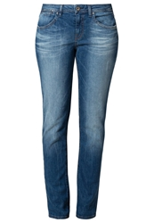 Edc By Esprit Straight Leg Jeans Blue