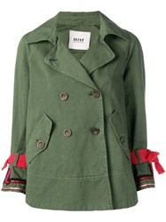 Bazar Deluxe Double Breasted Jacket Green
