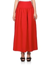 Sonia Rykiel Linen And Cotton Maxi Skirt