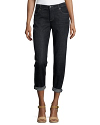 Eileen Fisher Stretch Boyfriend Jeans Petite