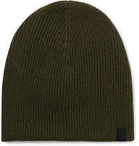 Rag And Bone Ace Cashmere Beanie Army Green
