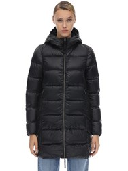 Parajumpers Marion Techno Nylon Down Coat Black