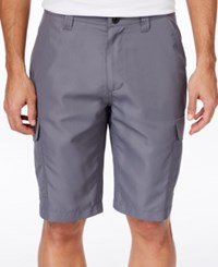 Inc International Concepts Men's Cargo Swim Shorts Only At Macy's Grey Skies