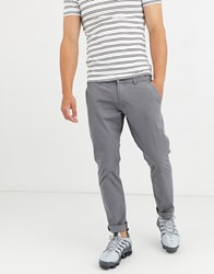 Esprit Slim Fit Chino In Grey