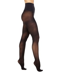 Commando Semi Opaque Control Tights Black