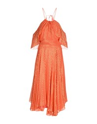 Daizy Shely Long Dresses Coral