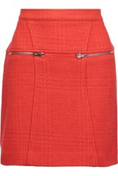 M Missoni Woven Mini Skirt Tomato Red