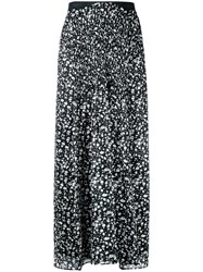 Theatre Products Long Printed Skirt Black