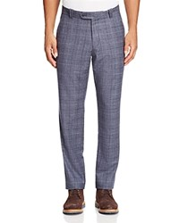 Bloomingdale's The Men's Store At Wool Shadow Check Trousers Denim