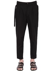 Damir Doma Cotton Pleated Pants