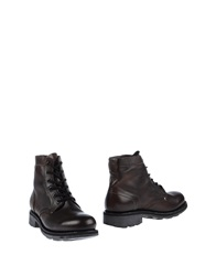 Bikkembergs Ankle Boots Dark Brown