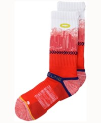 Strideline Los Angeles City Socks Ii Red White