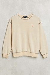 Urban Renewal Vintage Polo Beige Sweatshirt Assorted