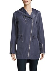 Vince Camuto Hooded Parka Jacket Grey
