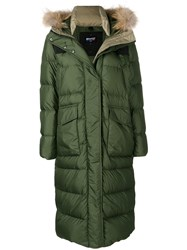 Blauer Padded Parka Coat Green