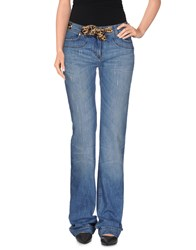Roberto Cavalli Denim Denim Trousers Women Blue
