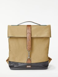 Ted Baker Foal Canvas Backpack Tan