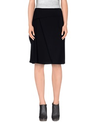 Kenzo Knee Length Skirts Black