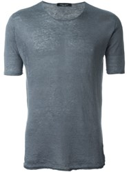 Roberto Collina Lightweight T Shirt Grey