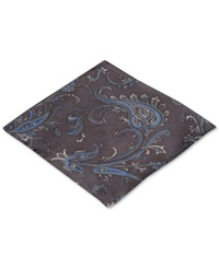 Ryan Seacrest Distinction Palm Paisley Pocket Square Only At Macy's