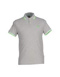 Henry Cotton's Topwear Polo Shirts Men Grey
