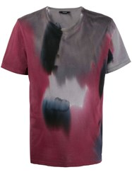 Zadig And Voltaire Ted Tie Dye T Shirt Red