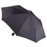 Fulton Stowaway Umbrella Black