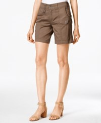 Styleandco. Style And Co. Tummy Control D Ring Shorts