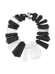 Monies Chunky Bead Necklace Black