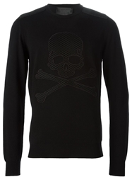 Philipp Plein 'Am I' Sweater Black