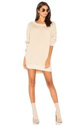 Wildfox Couture Falling Star Embroidered Roadtrip Sweater Beige
