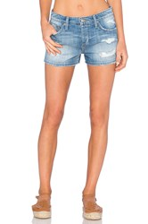 Joe's Jeans Livvy Collector's Edition The Billie Short Light Blue Destroyed
