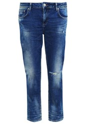 Ltb Mika Relaxed Fit Jeans Aviola Wash Blue Denim