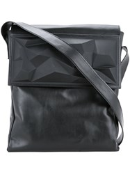 Lamat Foldover Top Shoulder Bag Women Wood Calf Leather One Size Black