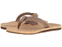 Quiksilver Carver Cork Brown Brown Brown Men's Sandals