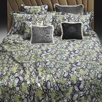 Roberto Cavalli Murrine Bed Set Green