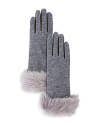Ugg Tech Gloves With Shearling Sheepskin Cuff Seal