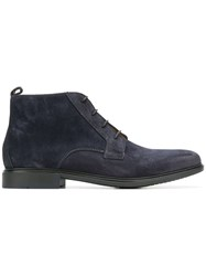 Tommy Hilfiger Ankle Length Boots Blue