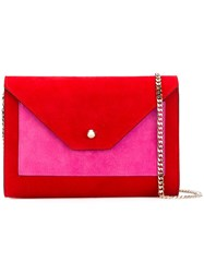 Casadei Shoulder Bag Women Chamois Leather Satin One Size Red