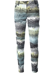Kenzo Wave Printed Jeans Multicolour
