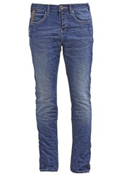 Tom Tailor Relaxed Fit Jeans Mid Stone Wash Denim Blue