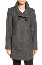 Larry Levine Women's Double Breasted Swing Coat