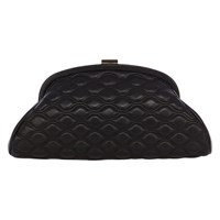 Coast Kate Half Moon Clutch Bag Black