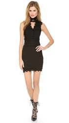 Nightcap Clothing Florence Lace Dress Black