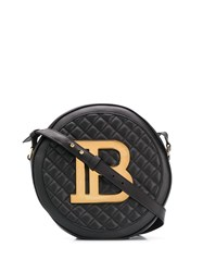 Balmain Disco Shoulder Bag Black