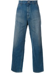 Gold '12Oz. Painter' Jeans Blue