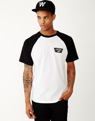 Vans Full Patch Short Sleeve Raglan T Shirt White