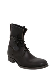 C Diem 5 Hole Leather Boots
