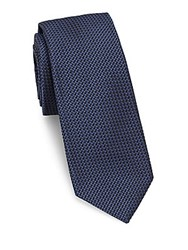 Theory Woven Silk Tie Eclipse